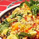 Refreshing Mediterranean Whole Wheat Couscous Salad Recipe