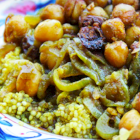 Moroccan Eggplant and Chickpea Casserole Recipe