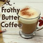 Frothy Butter Coffee with Collagen