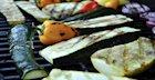 Grilled Veggies with Easy Sun-Dried Tomato Pesto