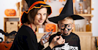 Keep Things Naturally Spooky with Kid-Safe Halloween Make-up