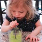 Kids Like Green Drinks Too