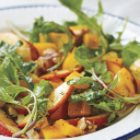 Magical Peach and Arugula Salad Recipe