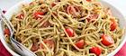 Gluten-Free Matcha Pesto Pasta