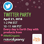 Melt Organic Twitter Party #MeltOrganic
