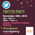 Melt Organic Twitter Party #PlantBased