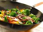 Orange Beef and Broccoli Stir Fry