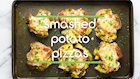 Smashed Potato Pizzas