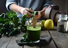 Spinach Pear Smoothie