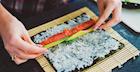 Veggie Loaded Sushi Burrito