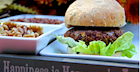 Caramelized Onion Walnut Burger (Vegan)