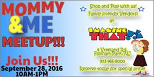 Join NJ Kids: Mommy & Me Day! at Imagine That!!! A New Jersey Children's Museum, Wednesday, Sept 28, 10am - 1pm