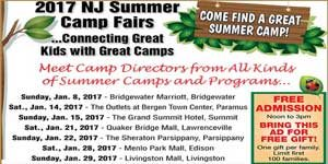 Join NJ Kids: NJ Summer Camp Fairs Weekends in January