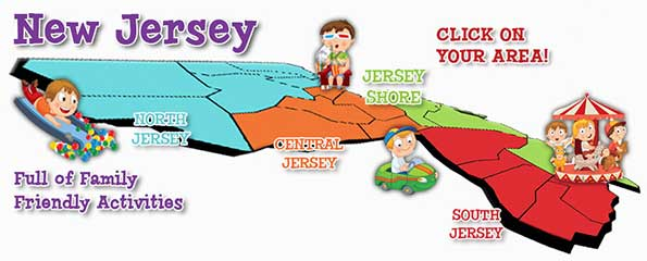 Family Attractions in New Jersey – Tourist Attractions Map In New Jersey
