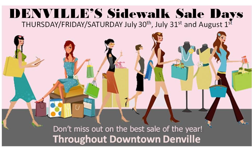 Denville Sidewalk Sale Days