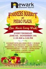 Farmers Market at PSE&G Plaza