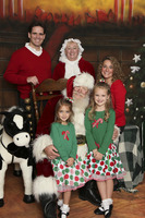 Photos with Santa and Mrs. Claus at Lord and Taylor in Westfield