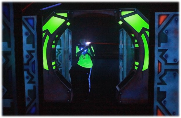 BSC's laser tag arena is available for drop-in play, birthday parties, private parties/rentals, corporate events and team buildings.
