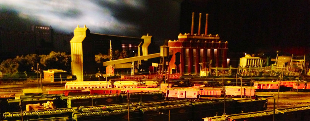 Annual Light and Sound Show and Open House at Model Railroad Club in Union
