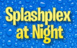 Splashplex at Night at The Funplex