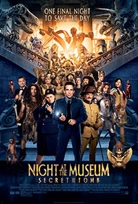 Night at the Museum - Secret of the Tomb:  Free Summer Movie at The State Theatre