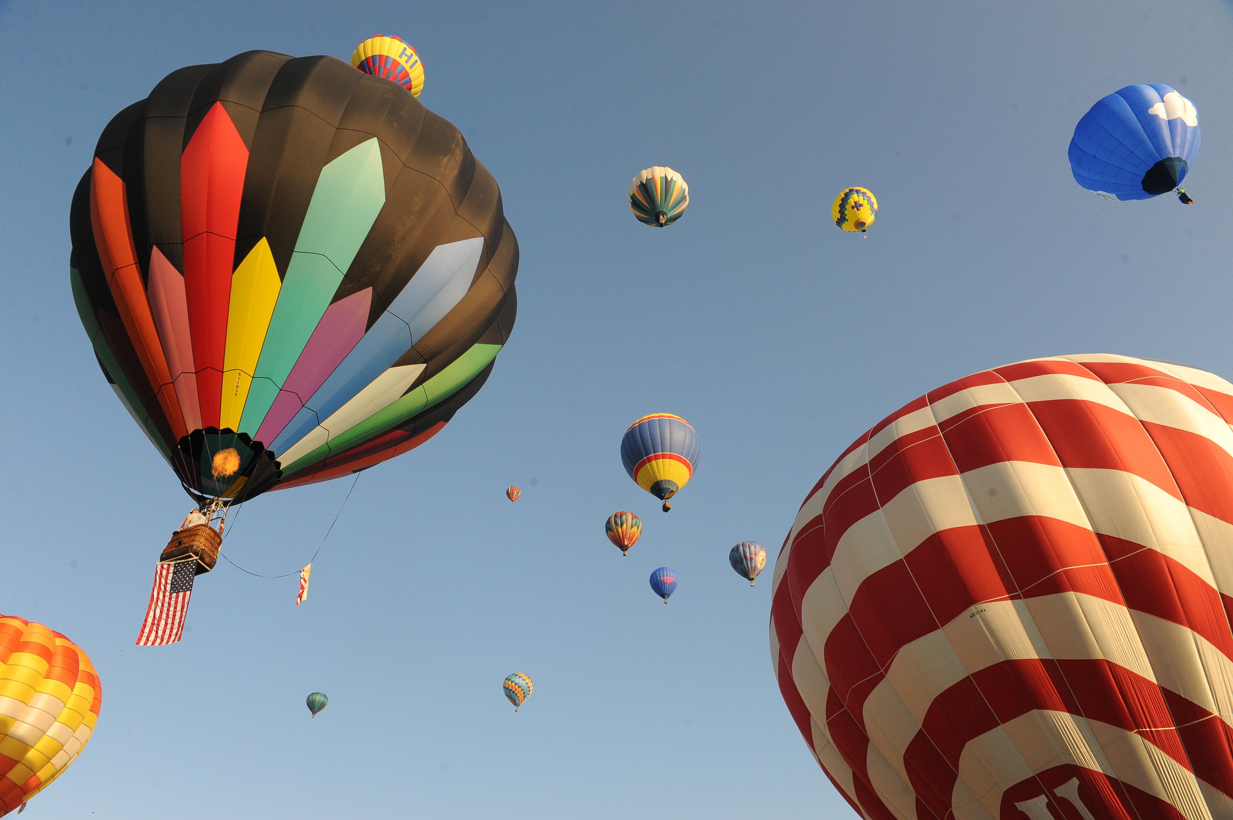 Warren County Farmers' Fair featuring the Hot Air Balloon Festival