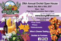 29 Annual Orchid Open House