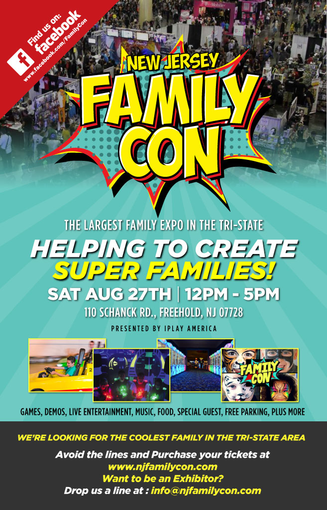 NJ Family Con 2016 Presented by iPlay America