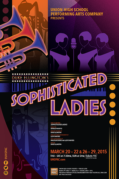 Duke Ellington's Sophisticated Ladies Presented by Union High School Performing Arts Company