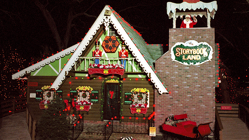 Christmas Fantasy with Lights at Storybook Land