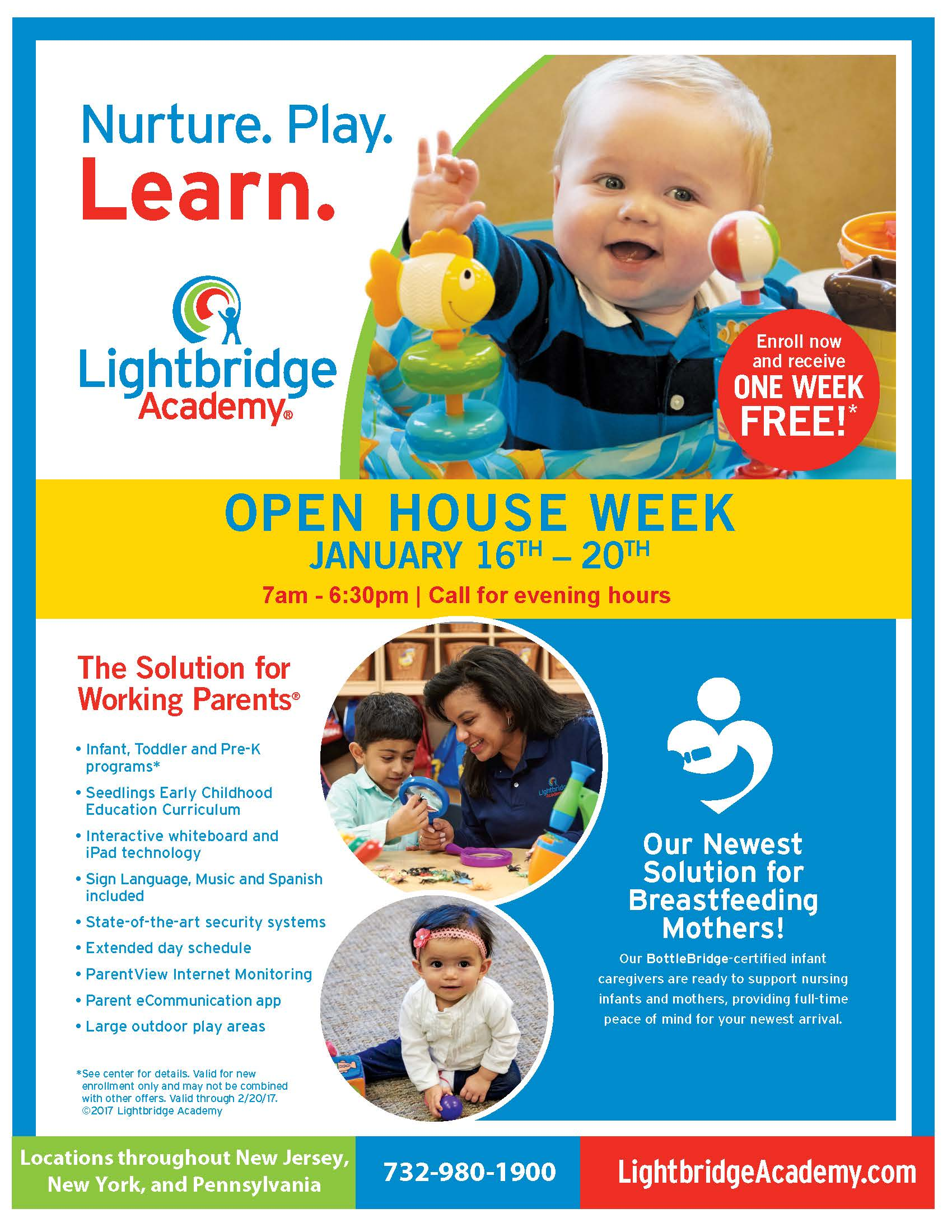 Lightbridge Academy Open House Week