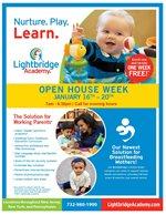 Lightbridge Academy Open House Week