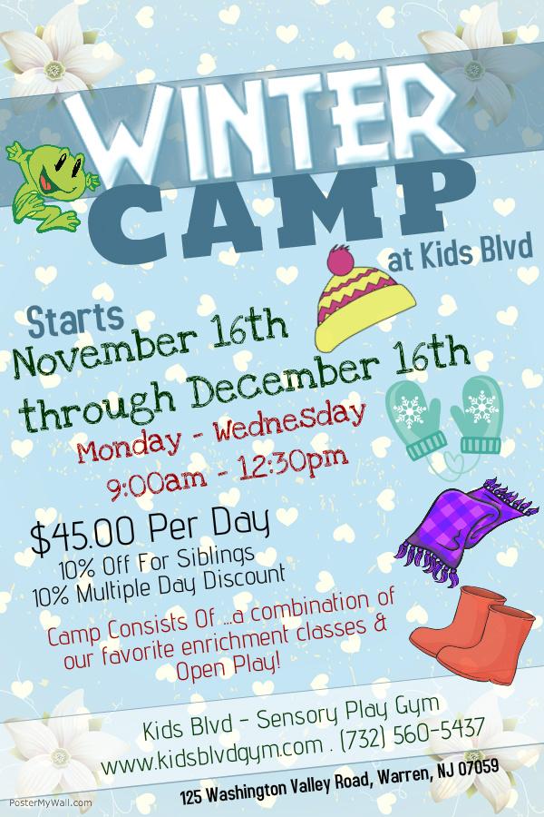 Kids Blvd Winter Daycamp