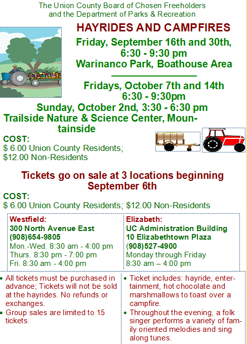 Hayrides and Campfires in Union County