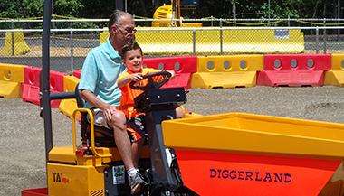 July 4th Weekend at Diggerland USA