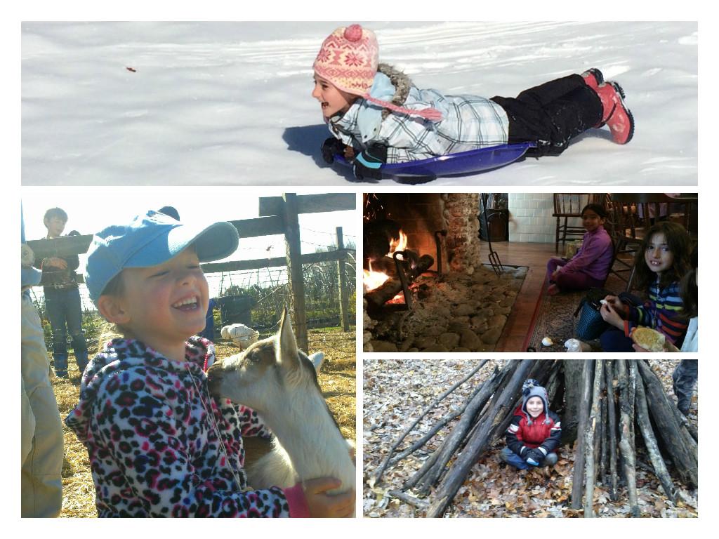Winter Break Camp Days at Fernbrook Farms