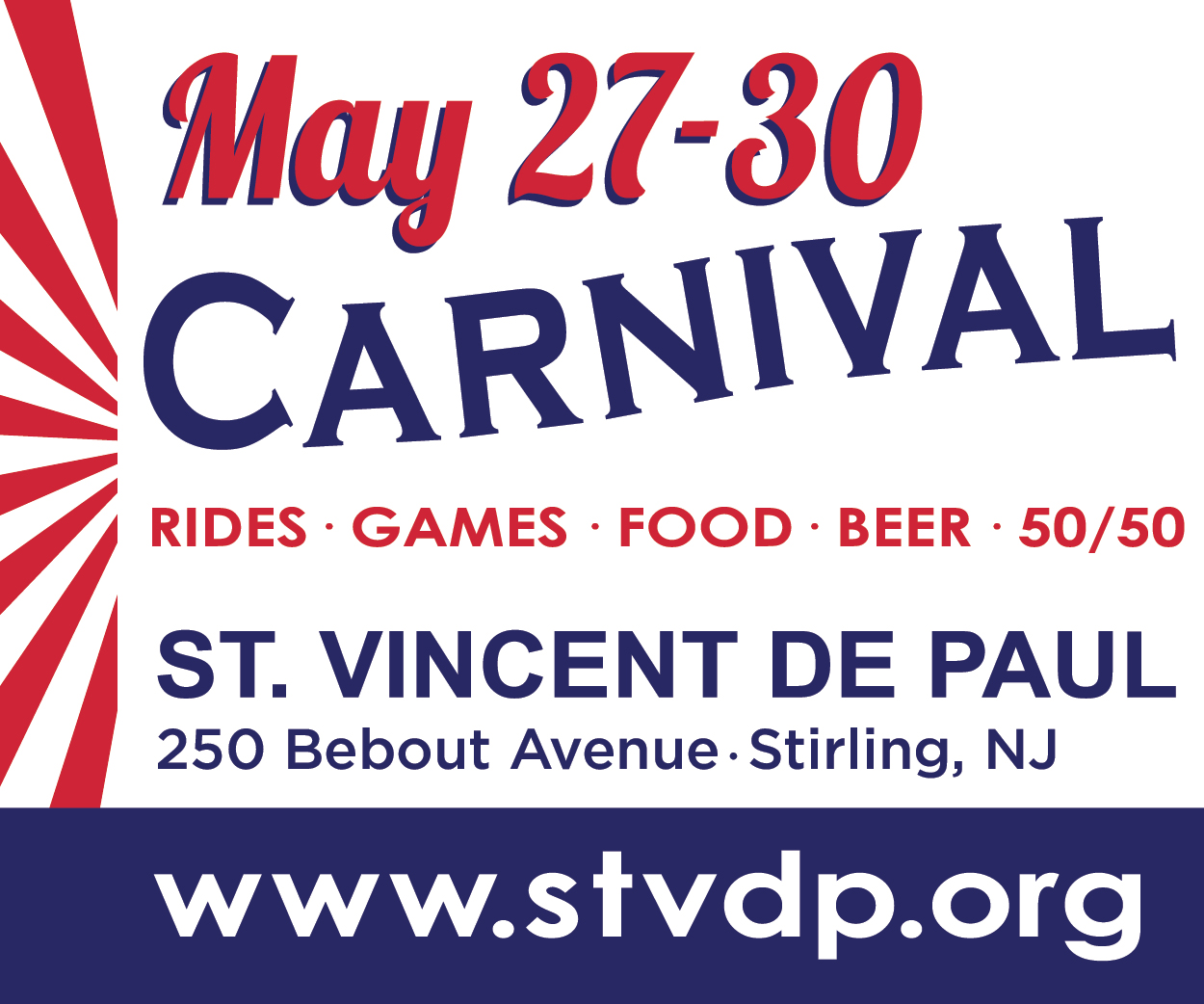St. Vincent de Paul 2nd Annual Carnival in Sterling