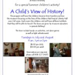 A Child's View of History at Liberty Hall Museum
