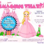 Princess Breakfast at Imagine That!!!