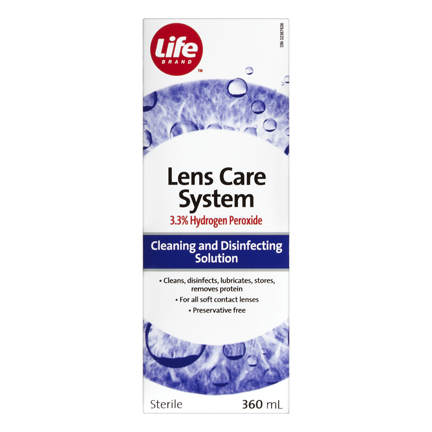 Life Brand Lens Care System