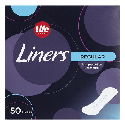 Life Brand Liners Regular Light Protection Unscented
