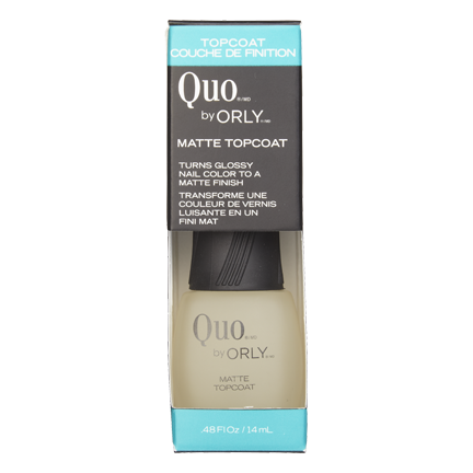 Quo by Orly Matte Topcoat