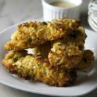 Crispy coconut chicken tenders