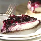 "Vegan blueberry ""cheesecake"""