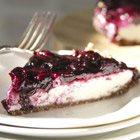 "Vegan blueberry ""cheesecake"""