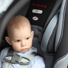 "Moving into a ""big boy"" car seat"