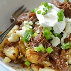 Slow-Cooker Pulled Beef Poutine