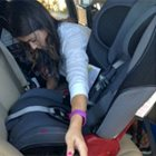 Installing my new Diono Rainier car seat
