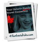 Ontario family travel north of Toronto weekend family fun guide