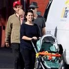 Neve Campbell not having a tough time balancing little babe Caspian and work